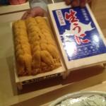 臼山直樹さんに、お寿司を、ごちそうなりました。