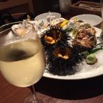 下北沢のジャックポットで、生牡蠣、サザエ、うにを食べて来ました!