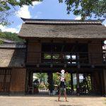 家族で群馬県川場町の、かやぶきの源泉宿、悠湯里庵(ゆとりあん)に、行ってきました!