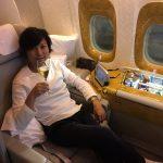 エミレーツ航空ファーストクラス搭乗レビュー:成田ードバイ往復