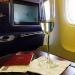 タイ航空ビジネスクラス搭乗レビュー:成田空港→スワンナプーム空港間