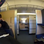 ANA ファーストクラスの成田からロサンゼルス、搭乗記。